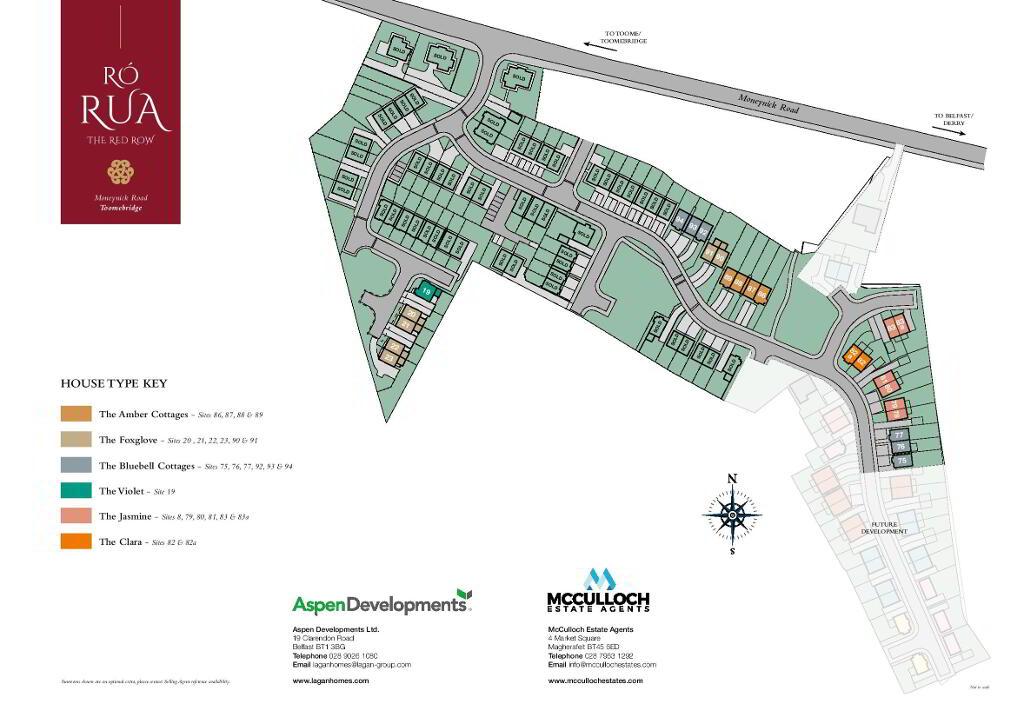 Floorplan 3 of The Clara, Ro Rua, Moneynick Road, Toomebridge
