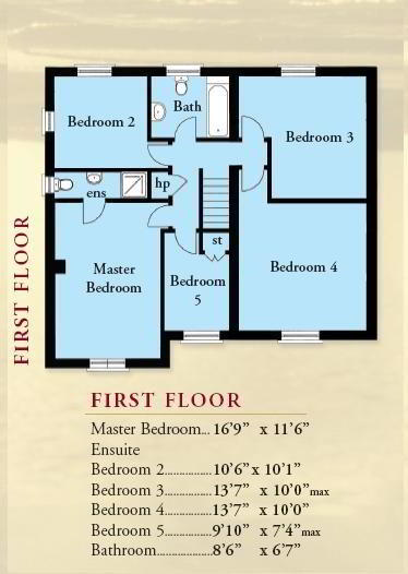 Floorplan 2 of The Boretree, St Andrews Point, Ballyhemlin, Ballyhalbert