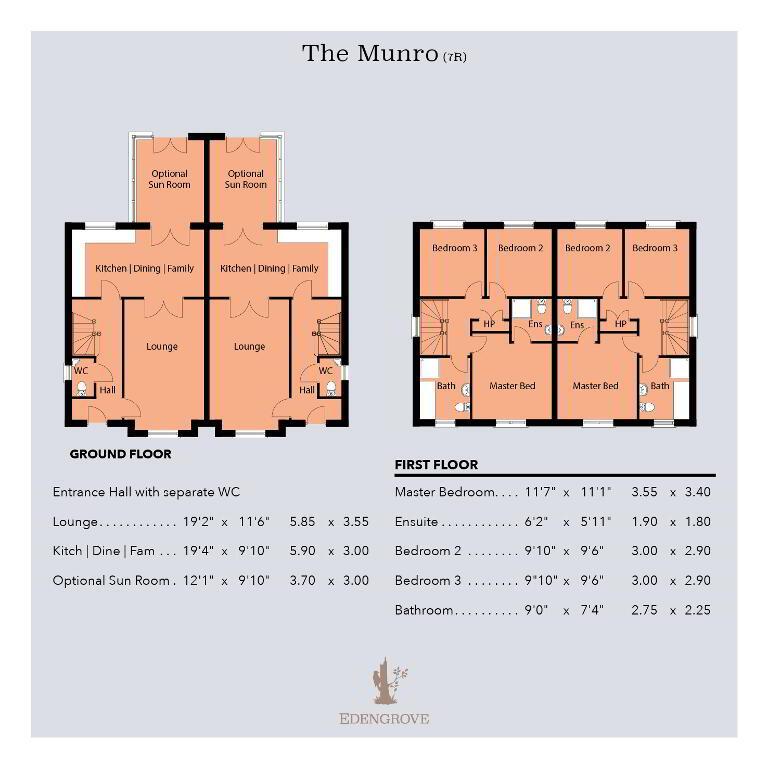 Floorplan 1 of The Munro (7R), Edengrove, Edengrove, Ballynahinch