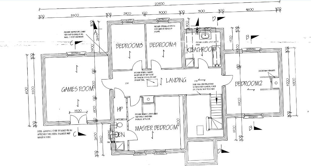 Floorplan 2 of House Type A, Stonebridge Mews, Legacorry Road, Richhill