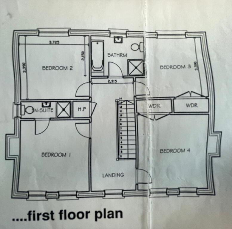 Floorplan 3 of House Type 5, Shanmoy Downs, Eglish, Dungannon
