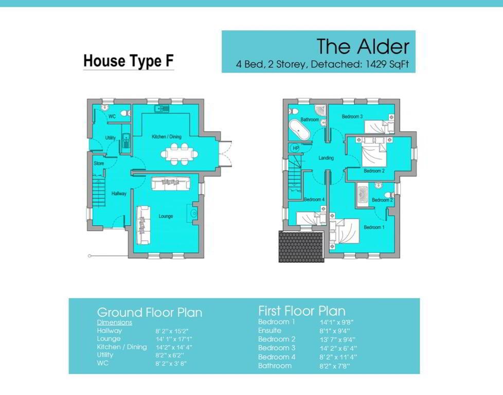 Floorplan 2 of Gortnessy Meadows, Derry/ Londonderry