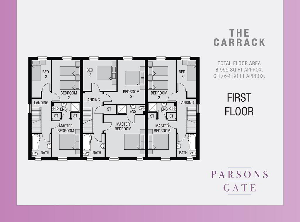 Floorplan 2 of The Carrack C, Parsons Gate, Armagh Road, Portadown