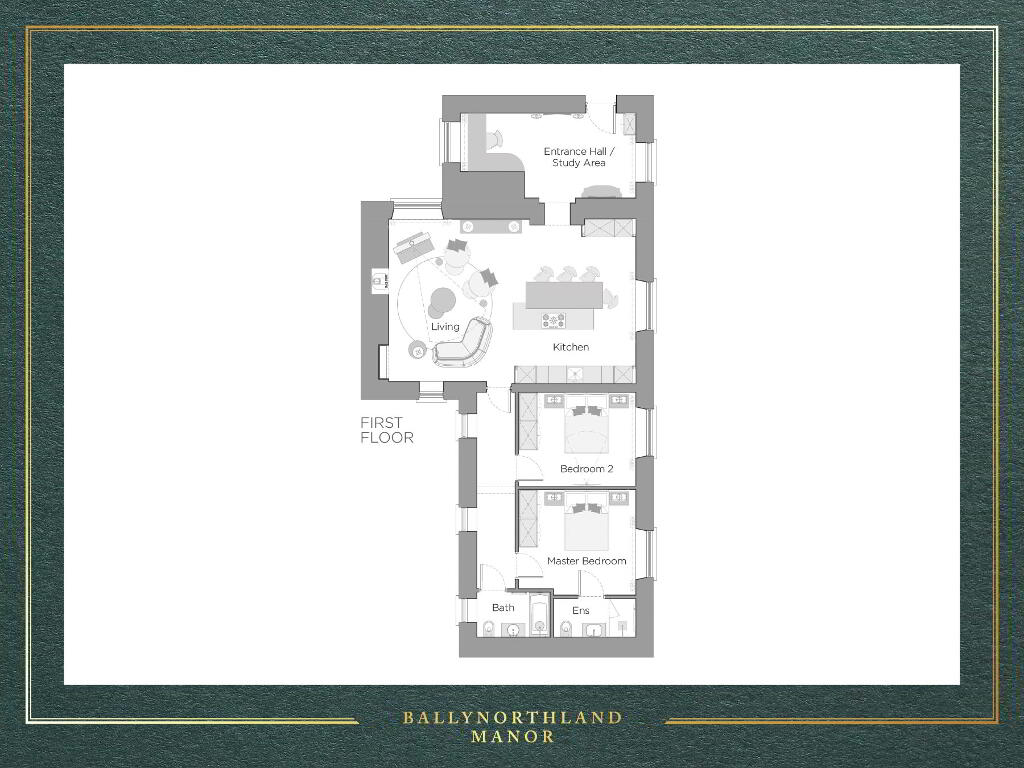 Floorplan 1 of The Fort, Ballynorthland Manor, Ballynorthland Demesne, Dungannon