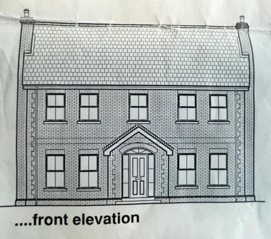 Floorplan 1 of House Type 5, Shanmoy Downs, Eglish, Dungannon