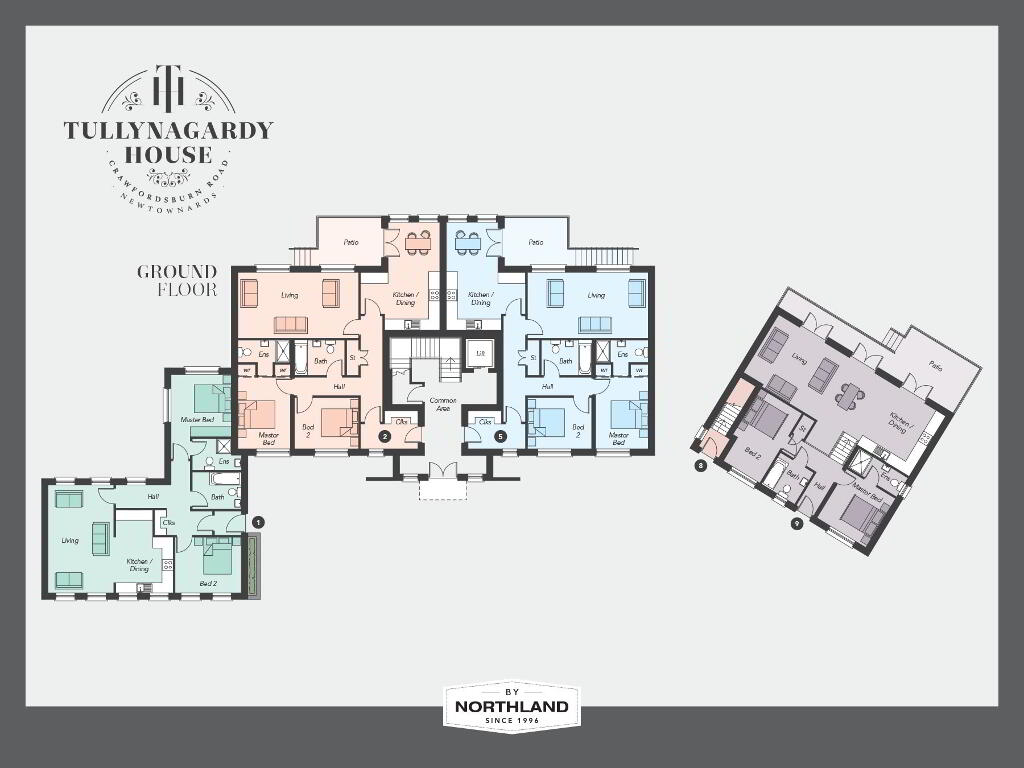 Floorplan 1 of The Bungalow, Tullynagardy House, Tullynagardy Road, Newtownards