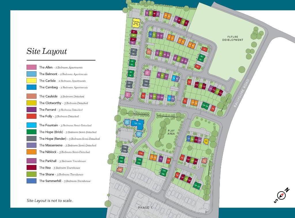 Floorplan 3 of The Hope (Brick), Ballyveigh, Ballygore Road, Antrim Bt41 2Fg