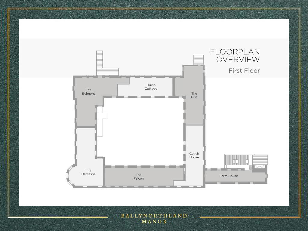 Floorplan 1 of The Fort, Ballynorthland Manor, Ballynorthland Demesne, Dungannon