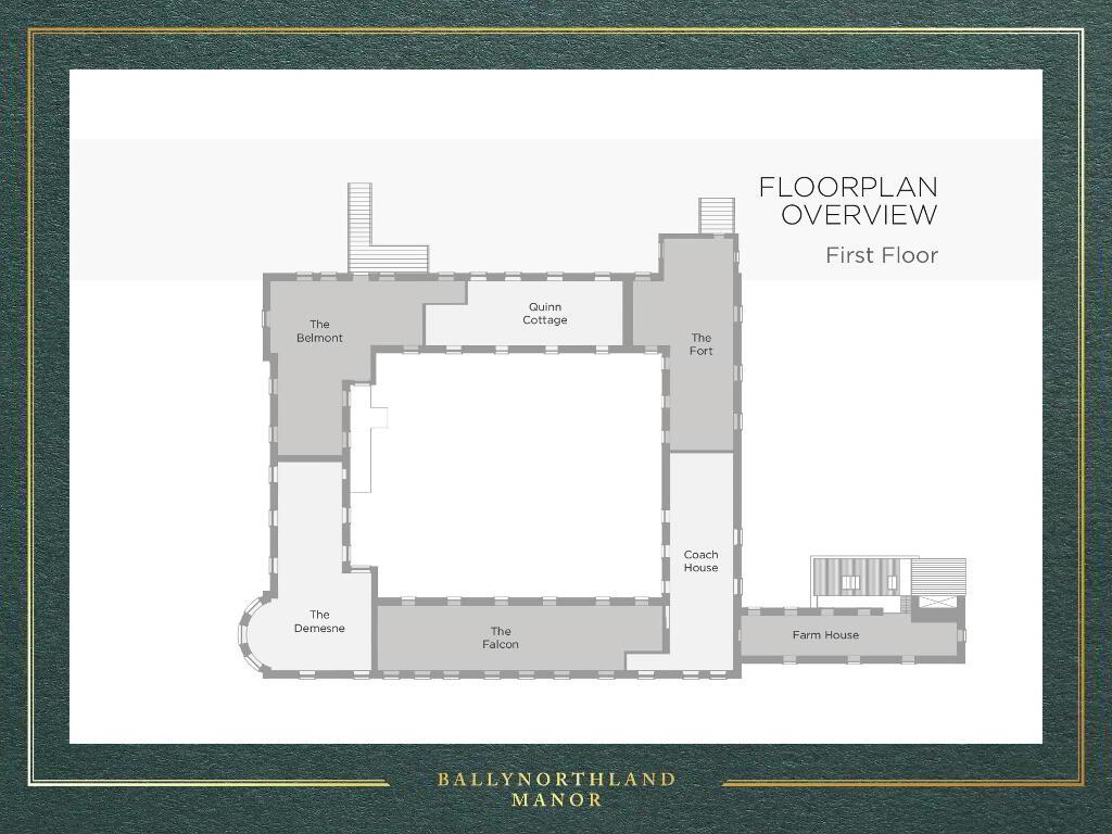 Floorplan 2 of The Fort, Ballynorthland Manor, Ballynorthland Demesne, Dungannon