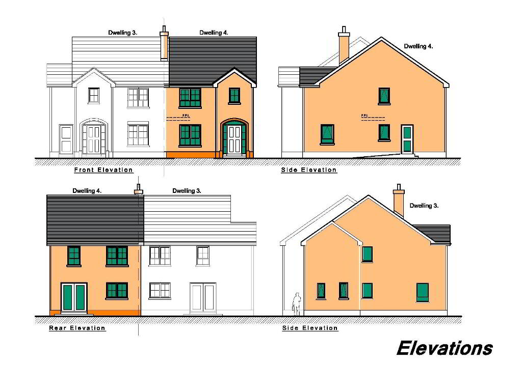 Floorplan 1 of Semi-Detached Houses, New Development, Circular Road, Omagh