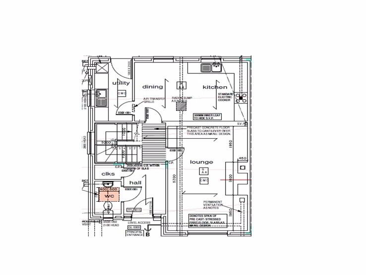 Floorplan 1 of 3 Bed Semi Detached House, St Julian's Close, Omagh