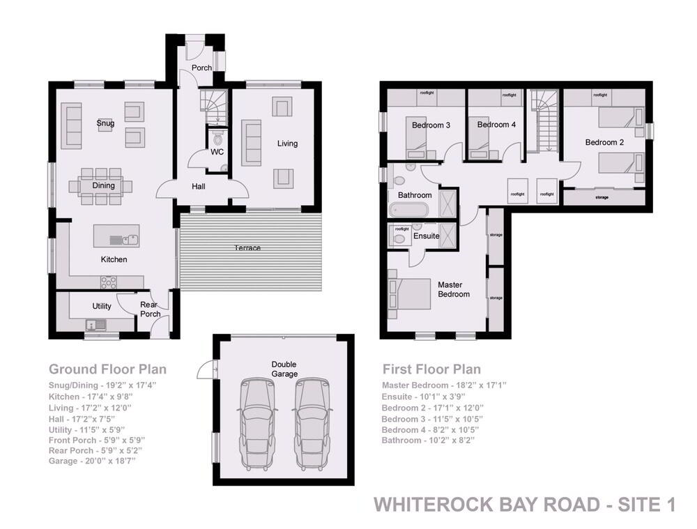 Floorplan 1 of Detached, The Cove, Whiterock Bay, Killinchy
