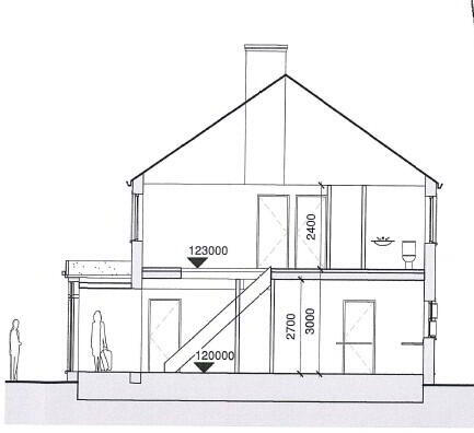 Floorplan 3 of Type 3, Dervaghroy Manor, Church Road, Gortaclare, Omagh