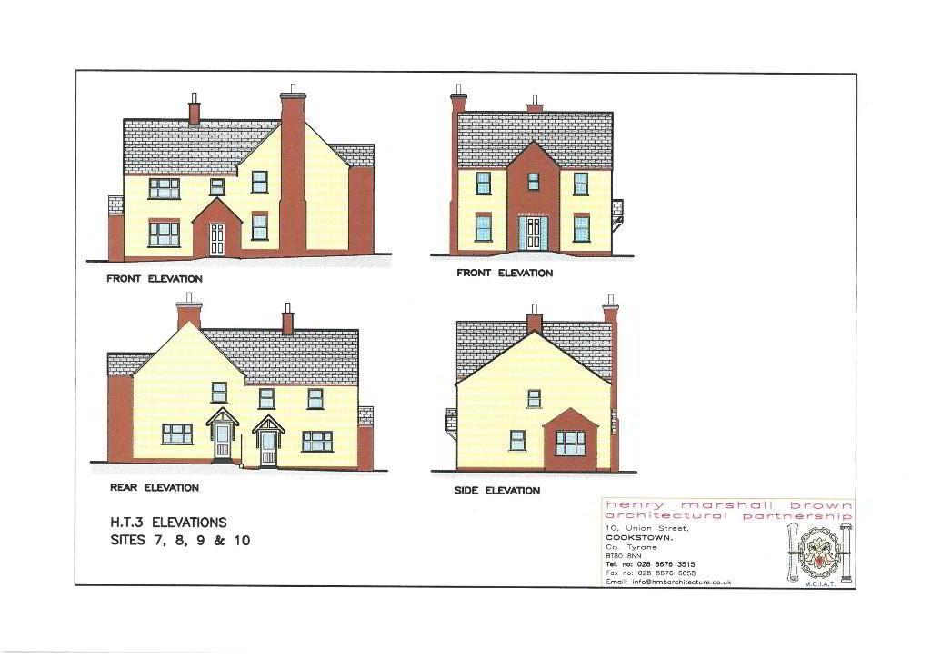 Floorplan 1 of House Type 3, Carryview, Coagh, Urbal Road, Coagh