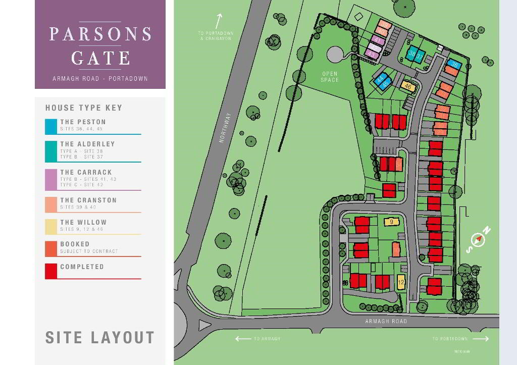 Floorplan 3 of The Harland, Parsons Gate, Armagh Road, Portadown