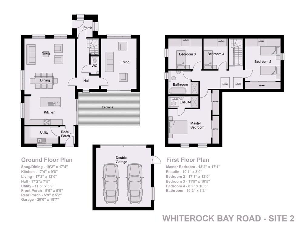 Floorplan 2 of Detached, The Cove, Whiterock Bay, Killinchy