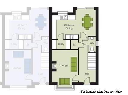 Floorplan 1 of The Oak, The Orchards, Portglenone