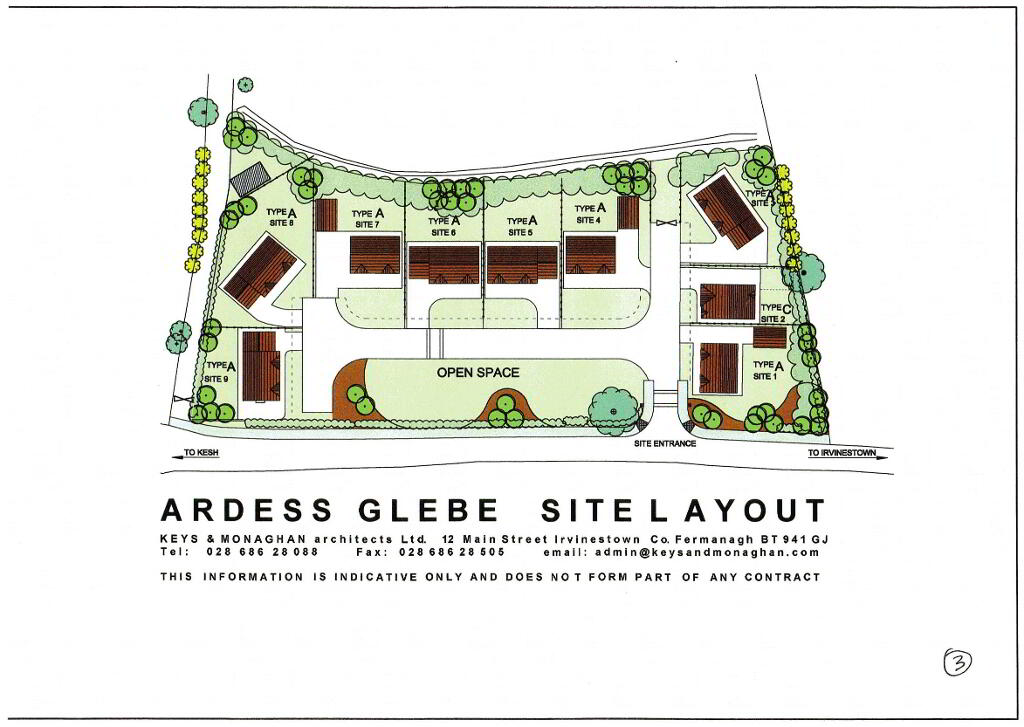 Photo 14 of House Type B, Ardess Glebe, Ardess, Kesh