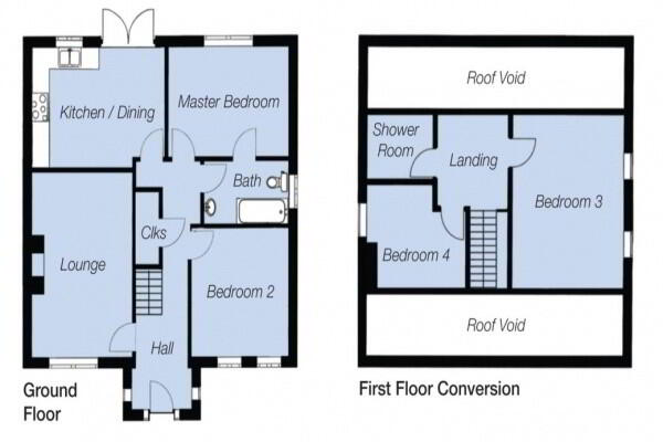 Floorplan 1 of The Taggart, St Andrews Point, Ballyhemlin, Ballyhalbert