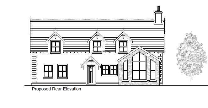 Floorplan 2 of Between 93 & 101 Rock Road, Rock Road Detached, Armagh