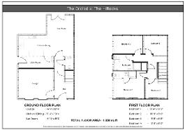 Floorplan 1 of The Orchid, The Hillocks, Altnagelvin, Derry