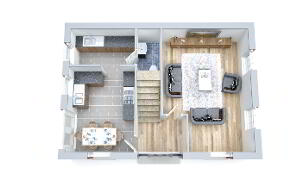 Floorplan 1 of Estate Cottage, Strawberry Lane, Strawberry Lane, Killylea