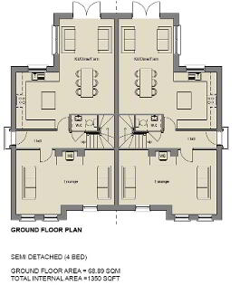 Floorplan 1 of The Topaz (1), Stoney Manor, Woodside Road, L'Derry