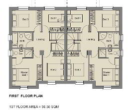 Floorplan 2 of The Topaz (1), Stoney Manor, Woodside Road, L'Derry