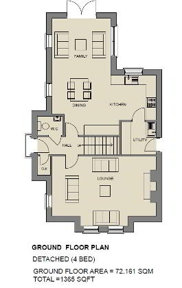 Floorplan 1 of The Sapphire, Stoney Manor, Woodside Road, L'Derry