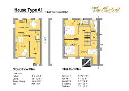 Floorplan 1 of The Chestnut, Gortnessy Meadows, Derry/ Londonderry