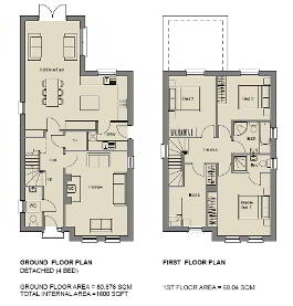 Floorplan 1 of The Amethyst, Stoney Manor, Woodside Road, L'Derry